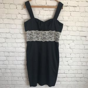 Arden B. Black Dress dress with Lace